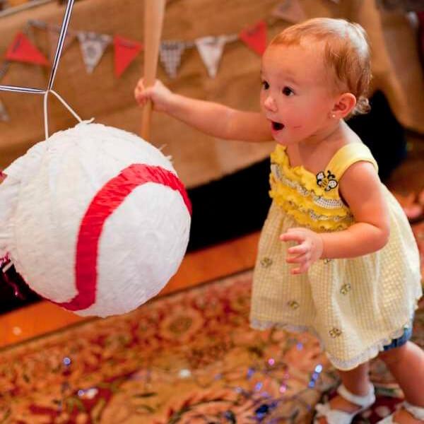 Gender Reveal Baby Piñata