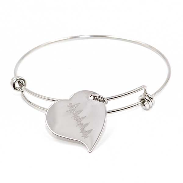 Heartbeat - Charm Bracelet-Heart