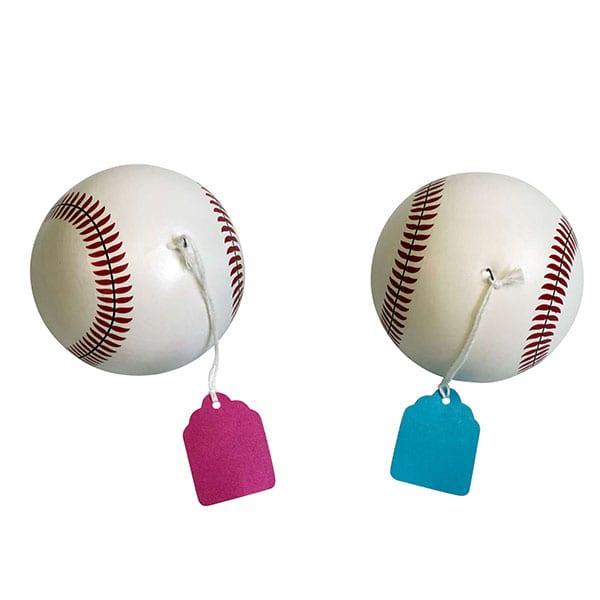 Hi Mom Ultrasound Gender Reveal Baseballs